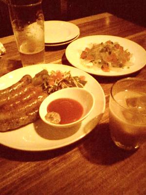 友達と外食