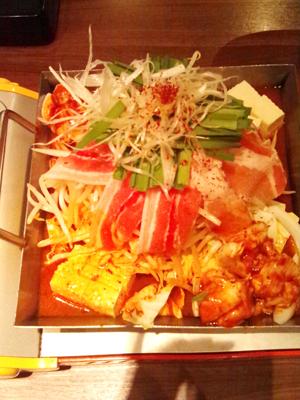 韓国風鍋料理