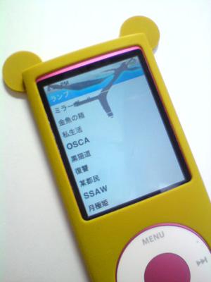 iPodの液晶