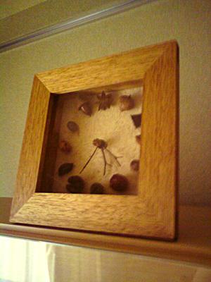 トトロみたいな時計