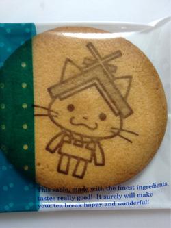 しまねっこクッキー