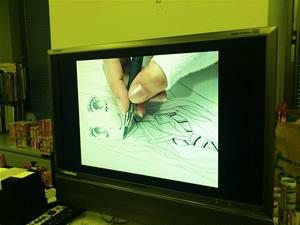 春田の作画過程動画