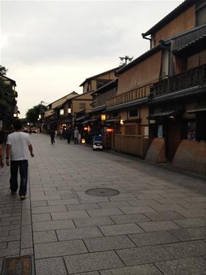 祇園の街並み